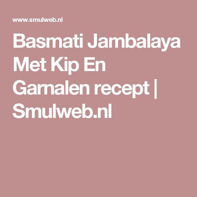 Basmati Jambalaya Met Kip En Garnalen