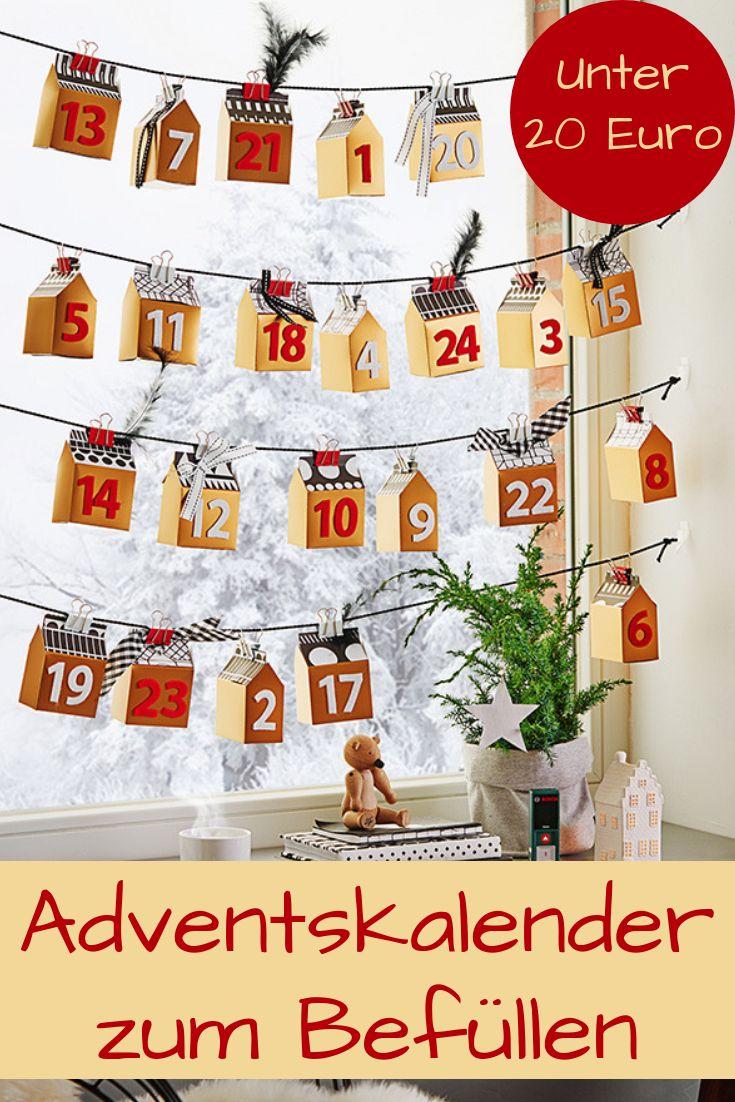 adventskalender zum bef llen basteln tolle adventskalender adventskalender adventskalender. Black Bedroom Furniture Sets. Home Design Ideas