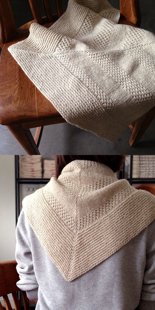 "Orlane's Textured Shawl A Free pattern, this is a breakdown of it, her ""take on it"" Great info for newbie!"