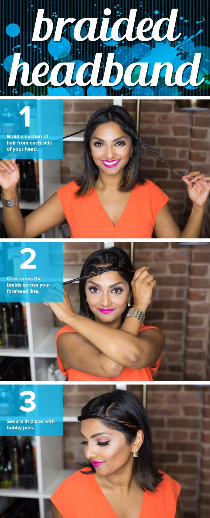 1-minute hairstyles to save your hair this summer