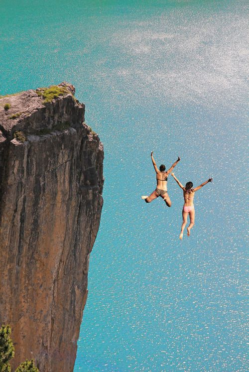 make a jump for it: Wild Heart, Bucketlist, Au Natural, Cliff Jumping, Buckets Lists, Adventure, Dreams, Leap Of Faith, Travel