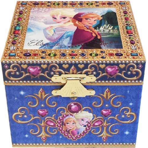 Your WDW Store - Disney Trinket Box - Frozen Jewelry Box - Princess Anna and Elsa