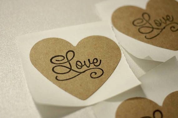Rustic Love Stickers in Heart Shape. Click through to find matching games, favors, thank you cards, inserts, decor, and more.  Or shop our 1000+ designs for all of life's journeys. Weddings, birthdays, new babies, anniversaries, and more. Only at Aesthetic Journeys
