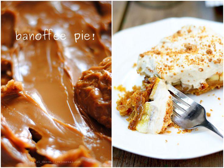 Banana and toffee. Banoffee. Нежно. Воздушно. Сладко. Даже название у этого десерта сладкое, округлое и томное. Произносится на выдохе, как мягко оседающее суфле, -- баноффи…
