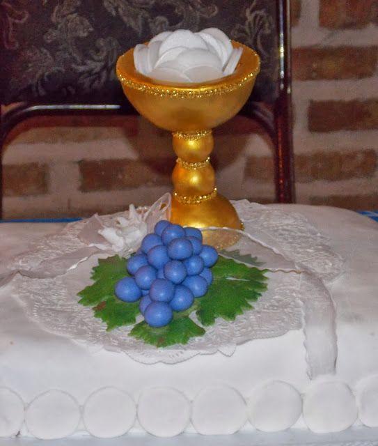 Adorno para torta . Primera Comunión
