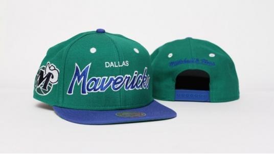 Mitchell and Ness Snapback - Dallas Mavericks