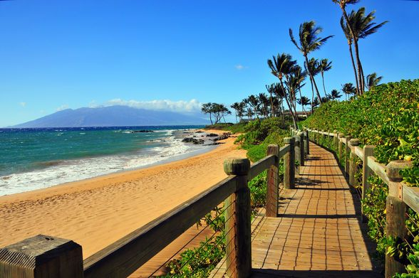Wailea Beach Walk, Maui, Hawaii ♥