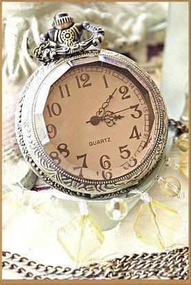 (16) TumblrAntiques Silver, Vintage Clocks, Teas Time, Vintage Watches, Clocks Vintage, 25Th Anniversaries, Sterling Silver, Pocket Watches, Vintage Silver