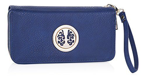 Clutch Wallet ~ Women Wristlet ~ Smartphone Wristlet ~ Wristlet Clutch ~ Designer Wallet For Women ~ ICONA Womens Clutch Wallet By MKF Collection -- Read more info by clicking the link on the image. #WristletWallet