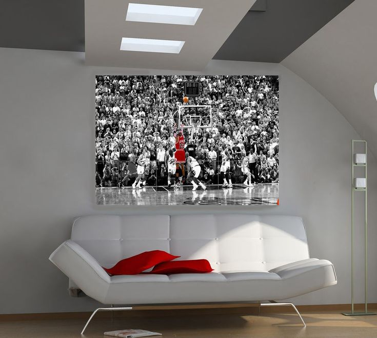 "Michael Jordan Huge Art Giant Poster Wall Print 39""x57"" px34 #UrbanArt"