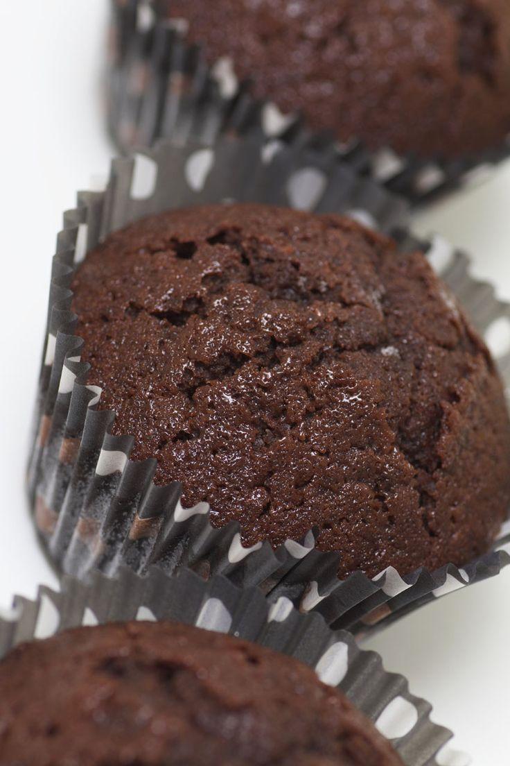 Allies saftiga chokladmuffins