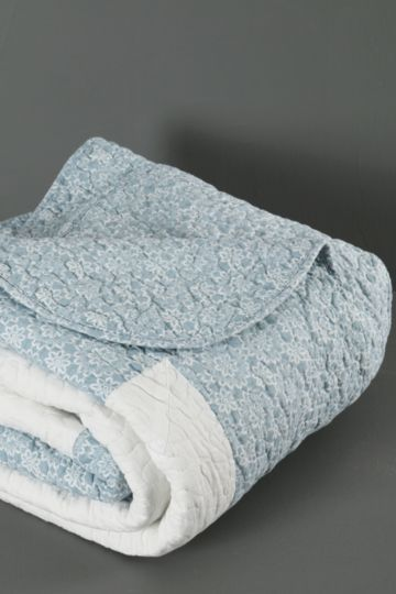 Cotton Ditsy Patchwork Quilt
