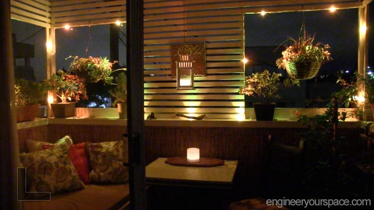 Diy ideas pinterest outdoor lighting balconies and small balco