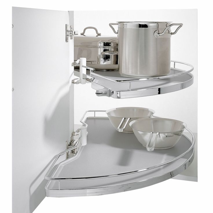 Kesseböhmer Corner Cabinet Half Carousel, 1000mm | Departments | DIY at B&Q