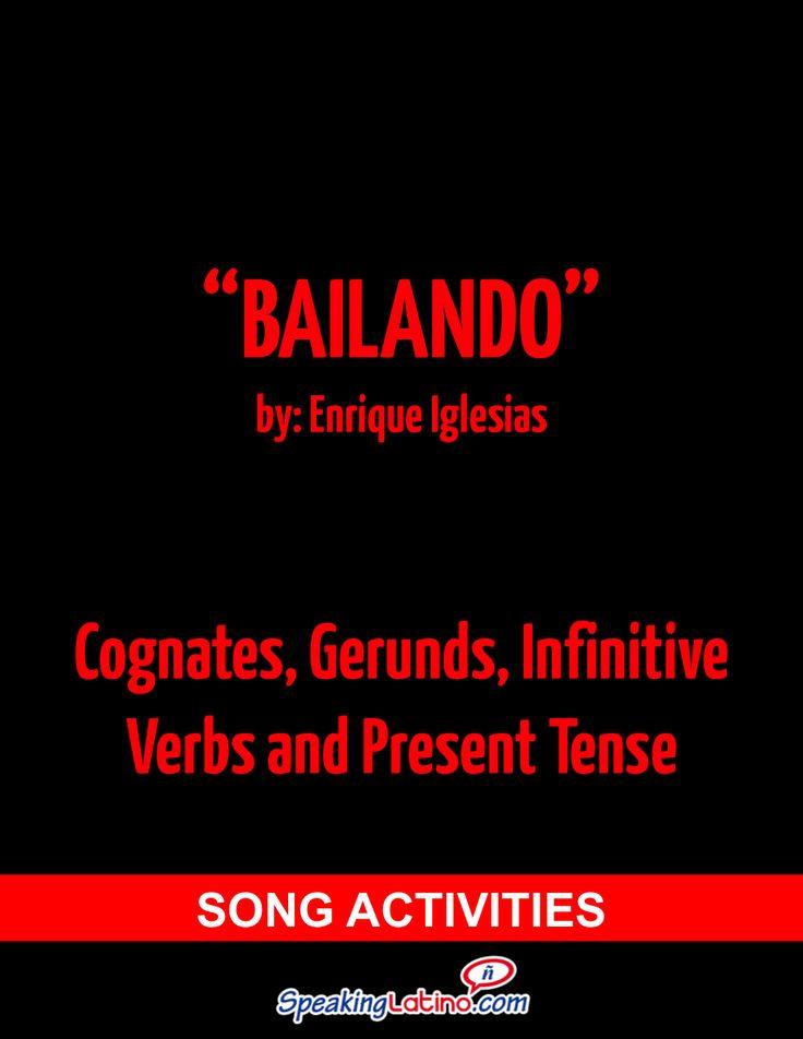 Bailando de Enrique Iglesias: Actividad para la clase de español con alumnos angloparlantes.