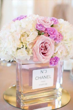 french wedding - chanel bouquet