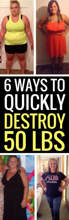 6 weight loss tips that will help you shed 50 pounds for good.