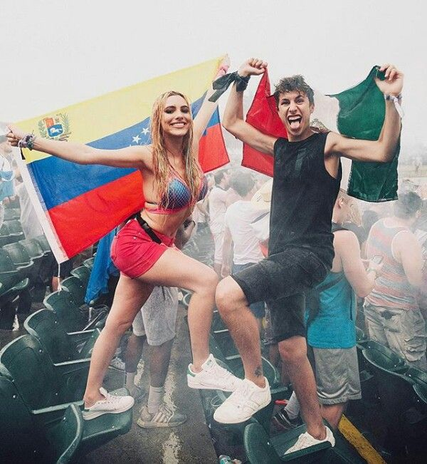 My mom Lele Pons and dad Juanpa Zurita