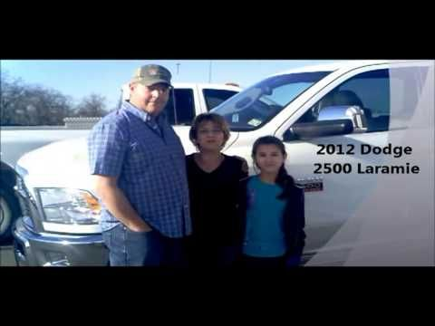 Congratulations to the Timms family on the purchase of their new 2012 Dodge RAM 2500!!!    2500 Laramie Dodge Dealer Bastrop, TX