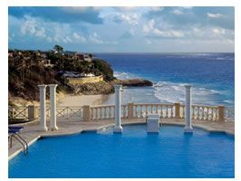 The swimming pool at The Crane Hotel in Barbados has been featured in fashion and travel magazines all over the world. This is the largest freshwater pool in the Caribbean, and the most famous swimming pool in the Caribbean islands.