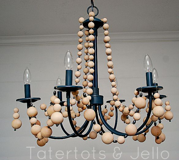 how to make a kitchen chandelier