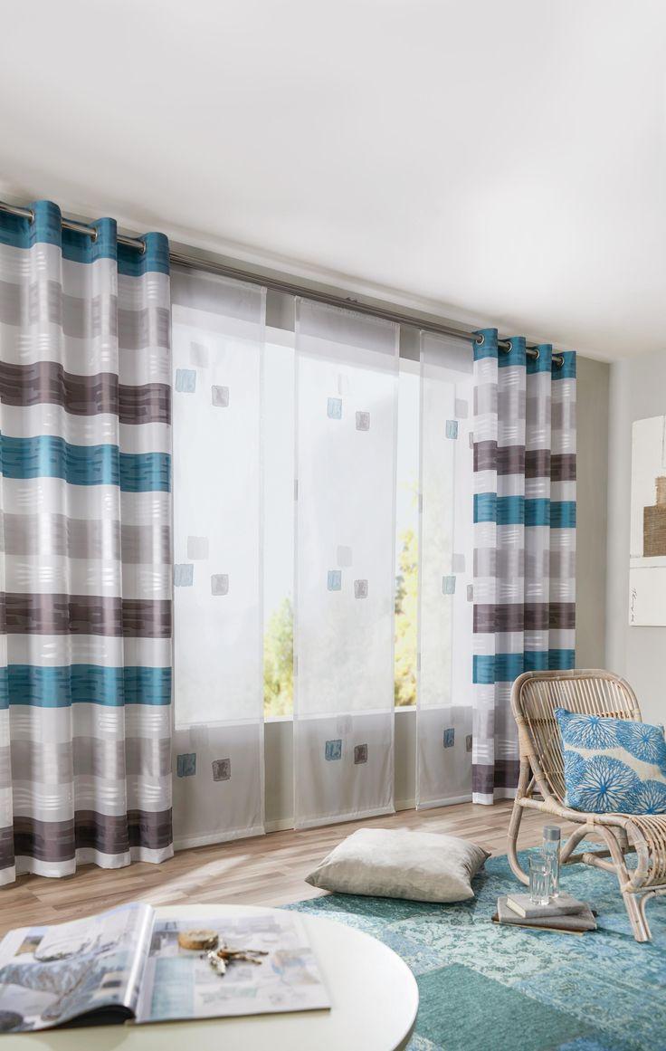 75 besten Gardinen Bilder auf Pinterest | Fensterdekorationen ...