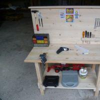 Handwerks-DIY: Werkbank für Kinder