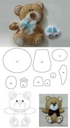 Выкройки игрушек своими руками, игрушки из фетра, ткани, мягкие