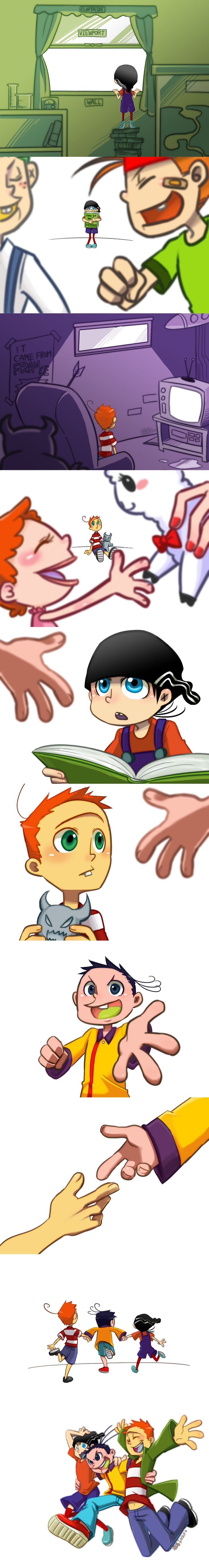 Ed Edd and Eddy_Best friends forever by aulauly7.deviantart.com on @deviantART| AWWWWW SO CUTE