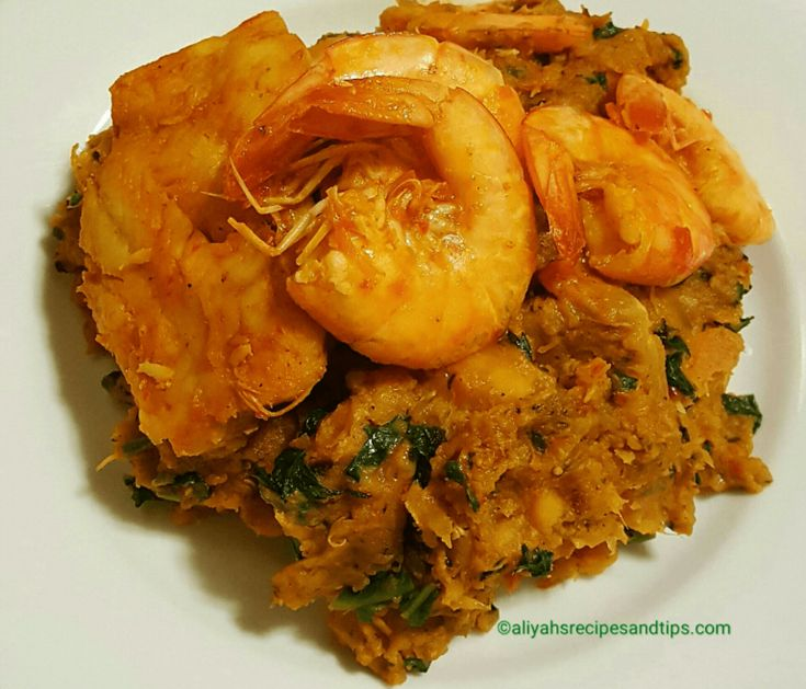 Yam And Plantain Porridge (Pottage)