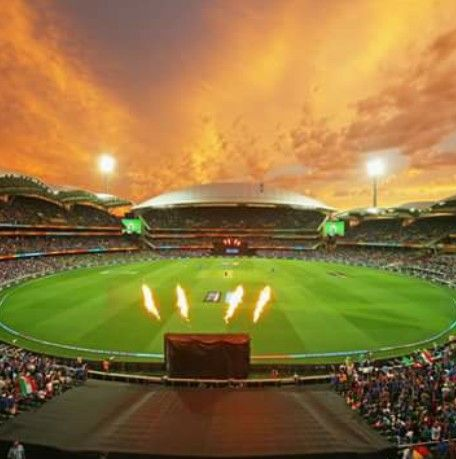 Do you remember the ground?  Yes it is the ground where #cwc2k15 #indvspak match was held