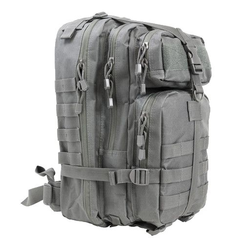 The VISM Small Tactical Assault Backpack is an excellent option for carrying extra gear that you might need for longer, multi-day games. Made with heavy duty PVC material this backpack is extremely du
