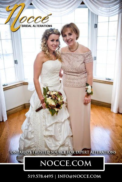 Best Alterations & Tailoring for Mother of the Bride Gowns in Cambridge Area: Nocce Bridal Alterations #NocceBridalAlterations