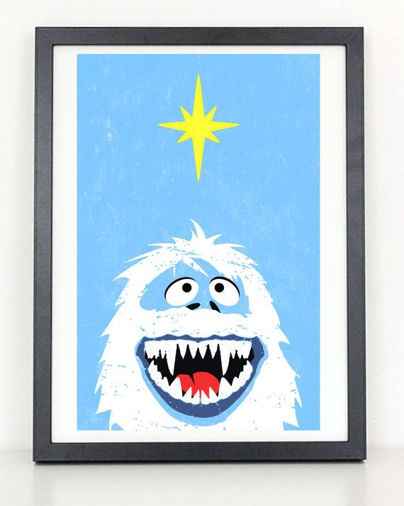 bumble+abominable+snowman+rudolph+rednosed+by+ColiseumGraphics,+$18.00