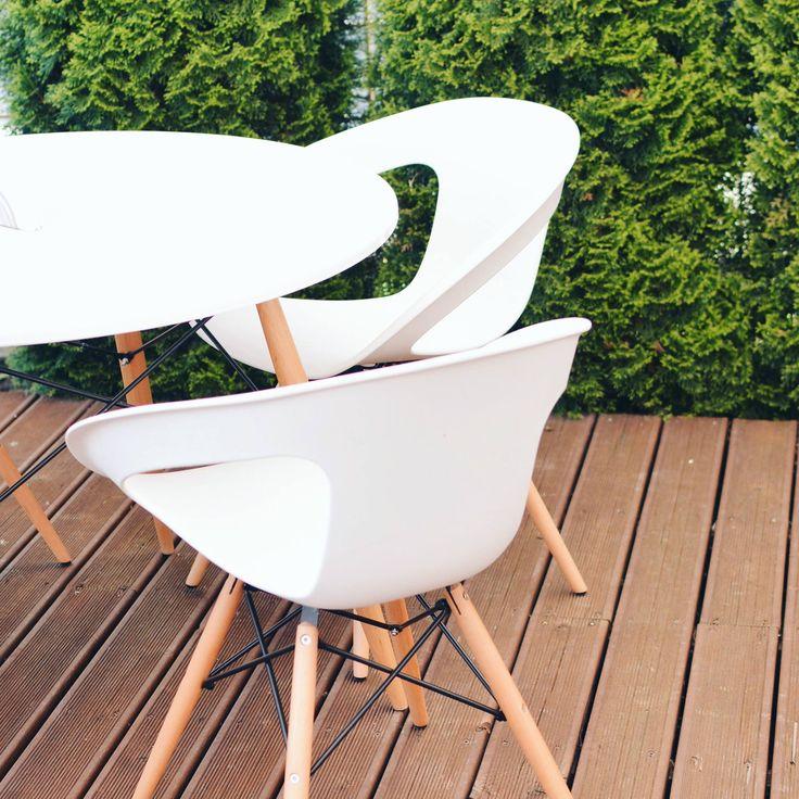 Стулья Луно (Белые, Красные, Желтые) в наличии.   Акция! ЦЕНА: 1450грн.  #Баро #Стулья #Ровно #chair #дизайн