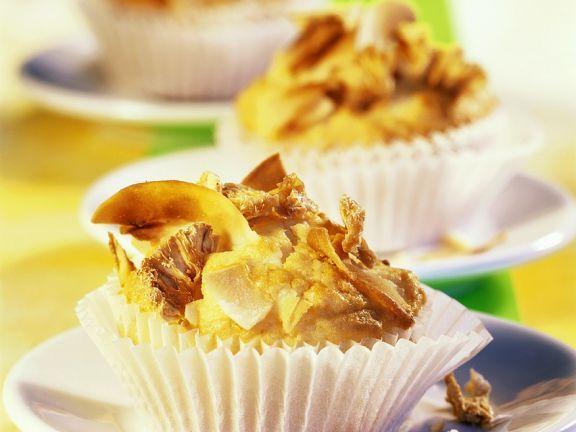 Schnelle Ananasmuffins mit Kokos ist ein Rezept mit frischen Zutaten aus der Kategorie Muffins. Probieren Sie dieses und weitere Rezepte von EAT SMARTER!