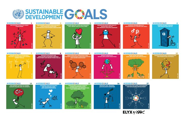 http://elyx.net/ Elyx and the Global Goals Elyx, the United Nations' digital ambassador, this weekend released a new series of illustrations designed to further explain the Sustainable Development Goals.