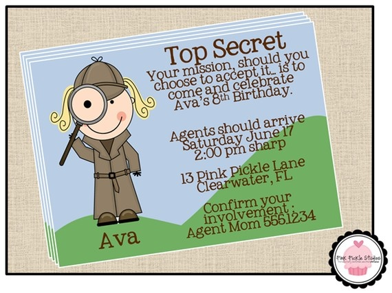 40 best Spy Camp images on Pinterest   Birthday party ...