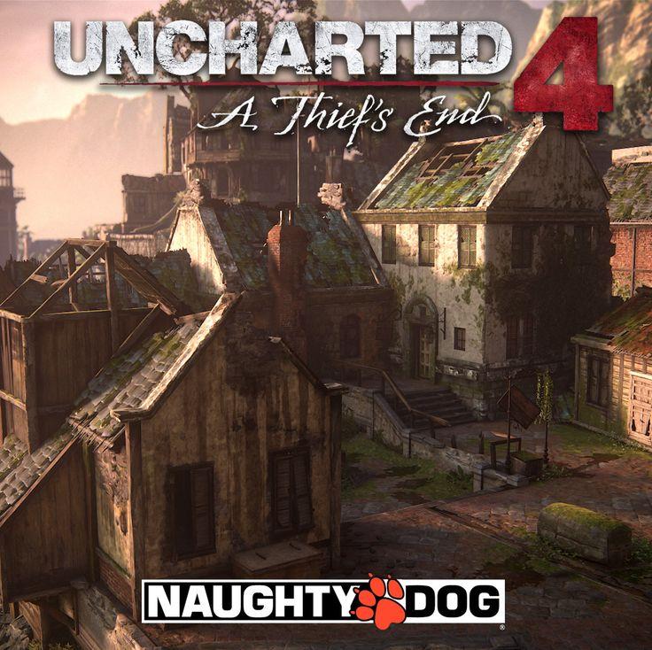 Uncharted 4: A Thiefs End - Port Town, Jared Sobotta on ArtStation at https://www.artstation.com/artwork/WgWeX