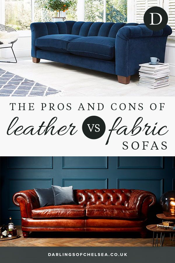 Leather V Fabric Sofas Fabric Sofa Modern Leather Sofa