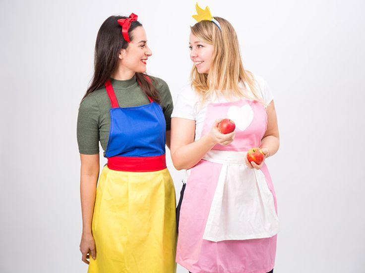 DIY-Anleitung: Prinzessinen-Schürze als Kostüm nähen via DaWanda.com