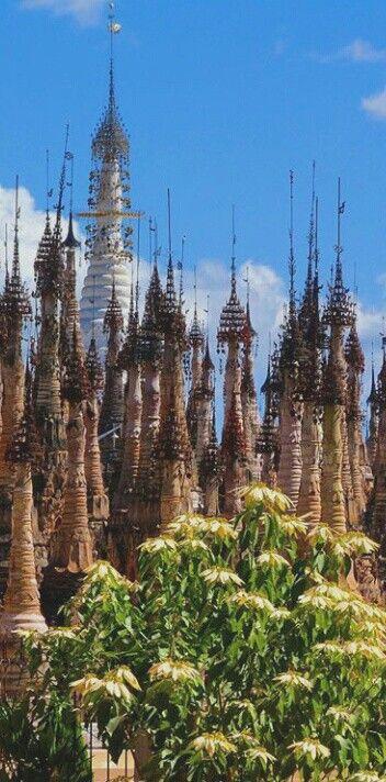 Myanmar pagoda Kakku