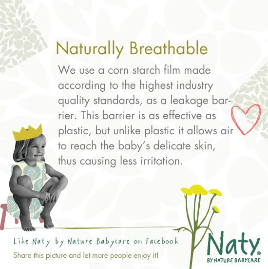 Use Naty´s naturally breathable diapers/nappies and pull on pants to protect your child.   » SHOP at http://webshop.naty.com   #diapers #diaper #nappie #nappies #nappy #naty