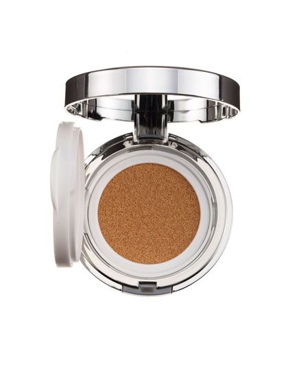AmorePacific Color Control Cushion Compact SPF 50 Another Best of Beauty winner, this CC cushion is addictively fun to use (press down on the sponge to release the liquid formula). But that's not the only reason we're obsessed with it: It also protects skin with a combination of SPF and antioxidants, moisturizes, brightens, and lends buildable, noncakey coverage. And the dewy-but-not-shiny finish strikes a just-right Goldilocks balance that will work on most skin types.