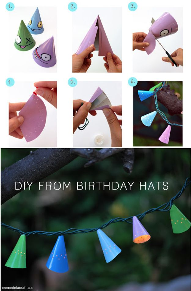 You don't have to put those string lights away after the holidays. There are so many elegant ways to incorporate string lights into your home decor.01. Wrap them around an interestingly shaped mirror.