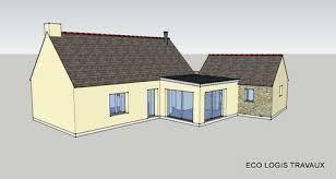 Agrandissement maison bois toit plat recherche google for Agrandissement maison 42