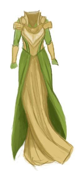 Lady Loki by greenraincoat-art. Way better than all the rest of Lady Loki's attires I've seen.