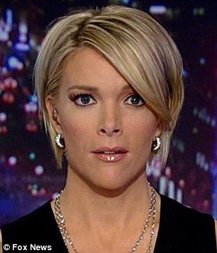 Fox News' Megyn Kelly reveals the 'personal surprise' is a new short hairdo | Daily Mail Online