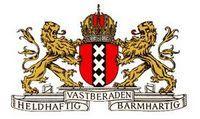 Andreaskruisen in wapen van Amsterdam