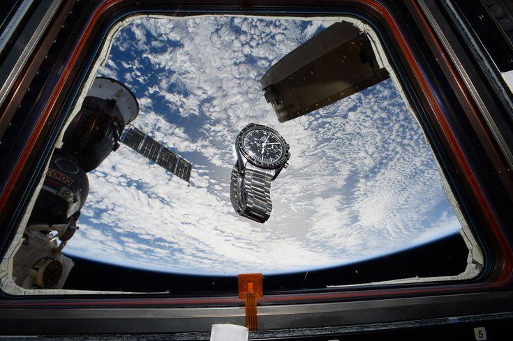 Omega Speedmaster : la montre qui sauva l'équipage de Apollo 13 et qui  reçut un Silver Snoopy award